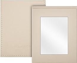 Perfumería y cosmética Espejo compacto, beige - MakeUp Pocket Mirror Beige