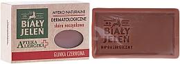 Perfumería y cosmética Jabón hipoalergénico para rostro y cuerpo con arcilla roja, pieles sensibles - Bialy Jelen Apteka Alergika Soap