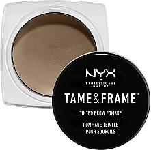 Perfumería y cosmética Pomada para cejas resistente al agua - NYX Professional Makeup Tame & Frame Brow Pomade