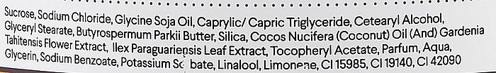 Exfoliante corporal con extracto de yerba mate & aceite de monoi - Vis Plantis Sugar & Salt Body Scrub — imagen N4