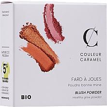 Perfumería y cosmética Colorete facial compacto - Couleur Caramel Blush Powder