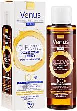 Perfumería y cosmética Aceite limpiador facial 100% natural con vitamina E para piel sensible y seca - Venus Cleansing Oil