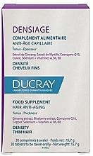 Perfumería y cosmética Complemento alimenticio antiedad capilar, 30 cápsulas - Ducray Densiage Anti-Aging Hair Food Supplement