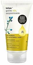Perfumería y cosmética Gel micelar hipoalergénico con ácido salicílico y aceite de linaza - Tolpa Green Oils Micellar Gel