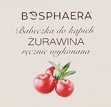 Perfumería y cosmética Bomba de baño efervescente en forma de cupcake, con aroma a arándano - Bosphaera