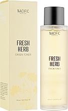 Perfumería y cosmética Tónico facial iluminador con agua de caléndula olla y niacinamida - Nacific Fresh Herb Origin Toner