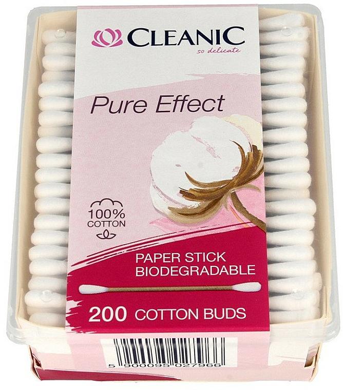 Bastoncillos de algodón - Cleanic Pure Effect