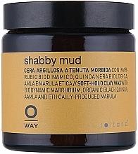 Perfumería y cosmética Cera texturizante de cabello con extracto de vainilla, fijación suave - Rolland Oway Shabby mud