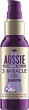 Perfumería y cosmética Aceite para cabello de macadamia, cártamo y coco - Aussie 3 Miracle Smooth Oil