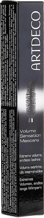Máscara de pestañas, efecto volumen & longitud - Artdeco Volume Sensation Mascara