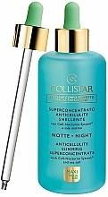 Perfumería y cosmética Sérum corporal con sal marina y extracto de plancton, con pipeta - Collistar Night Anticellulite Slimming Superconcentrate