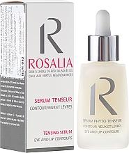 Perfumería y cosmética Sérum reafirmante para contorno de ojos y labios con aceite de rosa mosqueta - Naturado Rosalia Serum Eye And Lip Contours