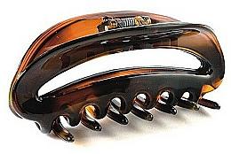 Perfumería y cosmética Pinza de pelo, FA-5801, marrón transparente - Donegal