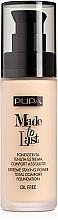 Perfumería y cosmética Base de maquillaje fluida de larga duración y cobertura media a alta - Pupa Made To Last Foundation