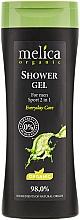 Perfumería y cosmética Gel de ducha orgánico para cuerpo y cabello - Melica Organic Shower Gel