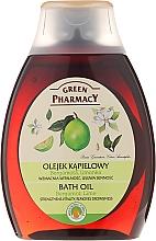 Perfumería y cosmética Aceite de ducha y baño, Bergamota & lima - Green Pharmacy