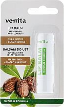 Bálsamo labial natural con mantecas de karité y cacao - Venita Lip Balm Shea Butter + Cocoa Butter — imagen N1