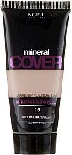 Perfumería y cosmética Base de maquillaje mineral - Ingrid Cosmetics Long-Lasting Stay Ideal Cover SPF 15