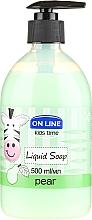 Perfumería y cosmética Jabón líquido con aroma a pera jugosa - On Line Kids Time Liquid Soap Pear