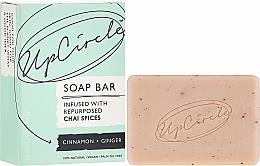 Perfumería y cosmética Jabón natural con canela & jengibre - UpCircle Cinnamon + Ginger Chai Soap Bar