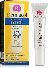 Perfumería y cosmética Gel hipoalergénico para ojos fatigados con extracto de 7 hierbas - Dermacol Eye Gold Gel