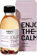 Perfumería y cosmética Aceite corporal relajante con pétalos de rosas - Veoli Botanica Relaxing Body Oil With Rose Petals Enjoy The Calmness