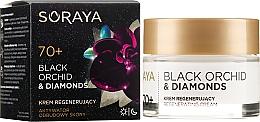 Perfumería y cosmética Crema facial regeneradora con polvo de diamente y orquídea negra - Soraya Black Orchid & Diamonds 70+ Regenerating Cream