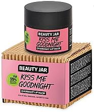 Perfumería y cosmética Mascarilla labial con cera de abeja y candelilla - Beauty Jar Kiss Me Goodnight Overnight Lip Mask