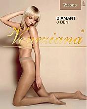 Perfumería y cosmética Pantis Diamant, 8 Den, color visón - Veneziana