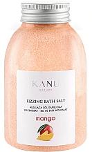 Perfumería y cosmética Sal de baño con aroma a mango - Kanu Nature Mango Fizzing Bath Salt