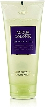 Perfumería y cosmética Maurer & Wirtz 4711 Acqua Colonia Saffron & Iris - Gel de ducha con aroma azafrán e iris