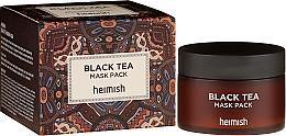 Perfumería y cosmética Mascarilla facial calmante en gel con extractos de té negro, bayas, aloe y centella asiática - Heimish Black Tea Mask Pack