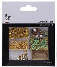 Perfumería y cosmética Set para decorar uñas 149312 - Peggy Sage Mini Kit Nail Art (6 uds.)