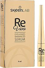 Perfumería y cosmética Sérum para crecimiento de pestañas con pantenol - Skeenlab ReViva Eyelash Enhanced Serum