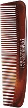 Perfumería y cosmética Peine de bolsillo, marrón, 12,5cm - Titania Havannah