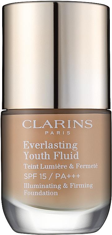 Base de maquillaje reafirmante e iluminadora SPF 15 - Clarins Everlasting Youth Fluid