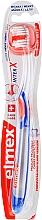 Perfumería y cosmética Cepillo dental de dureza suave, azul-gris - Elmex Toothbrush Caries Protection InterX Soft Short Head
