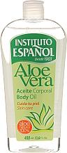 Perfumería y cosmética Aceite corporal con extracto de aloe vera - Instituto Español Aloe Vera Body Oil