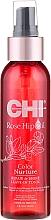 Perfumería y cosmética Loción tonificante para cabello con aceite de rosa mosqueta y queratina, sin aclarado - CHI Rose Hip Oil Repair & Shine Leave-In Tonic