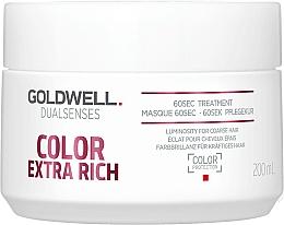 Perfumería y cosmética Tratamiento capilar intensivo con extracto de granada - Goldwell DualSenses Color Extra Rich 60sec Treatment