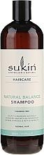 Perfumería y cosmética Champú para cabello normal con extractos naturales y aceite de baobab - Sukin Natural Balance Shampoo