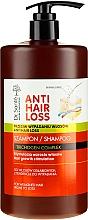 Perfumería y cosmética Champú con extracto de maca peruana y proteínas de semilla de lupino (con disificador) - Dr. Sante Anti Hair Loss Shampoo