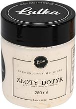 """Perfumería y cosmética Mousse corporal con aceite de coco y almendra dulce """"Toque dorado"""" - Lalka"""