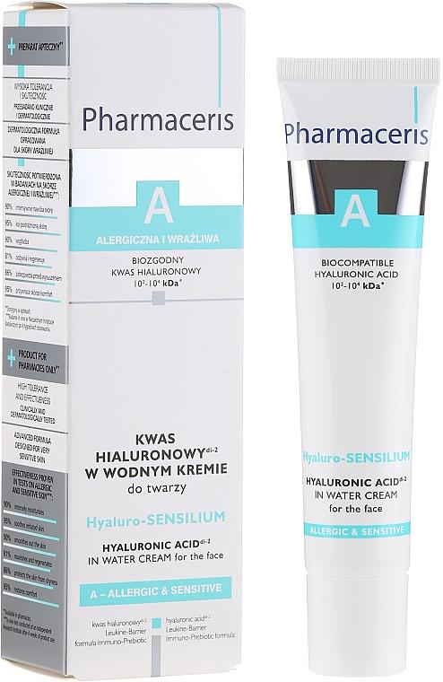 Crema facial con ácido hialurónico y extracto de alga - Pharmaceris A Hyaluro-sensilium