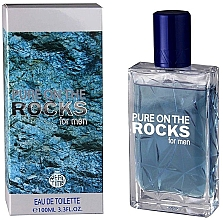 Perfumería y cosmética Real Time Pure On The Rocks For Men - Eau de toilette