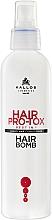 Perfumería y cosmética Acondicionador con queratina, ácido hialurónico y colágeno - Kallos Cosmetics Hair Pro-Tox Conditioner