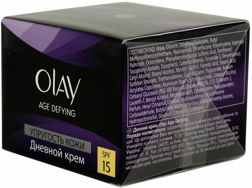 Crema de día antiedad con extracto de té verde y ceramidas, SPF15 - Olay Age Defying Day Cream  — imagen N1