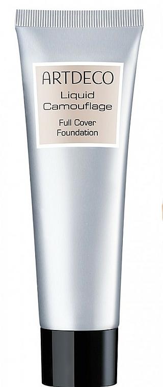 Base de maquillaje con fórmula ultra ligera y excelente cobertura - Artdeco Liquid Camouflage Full Cover Foundation
