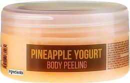 Perfumería y cosmética Peeling corporal con sal marina y aceite de almendras dulces, aroma a piña - Stani Chef's Pineapple Yogurt Body Peeling
