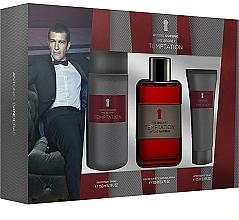 Perfumería y cosmética Antonio Banderas The Secret Temptation - Set (edt/100ml + desodorante/150ml + after shave bálsamo/75ml)